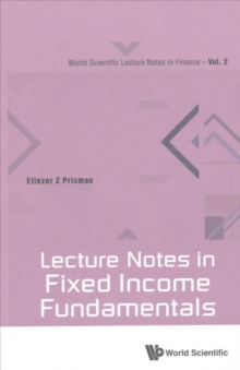 Lecture Notes in Fixed Income Fundamentals, Paperback Book