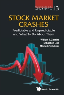 Stock Market Crashes: Predictable And Unpredictable And What To Do About Them, Paperback Book