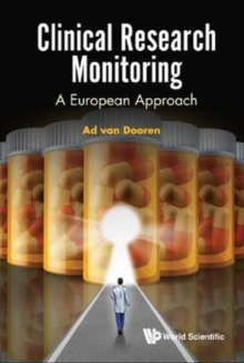 Clinical Research Monitoring: A European Approach, Hardback Book