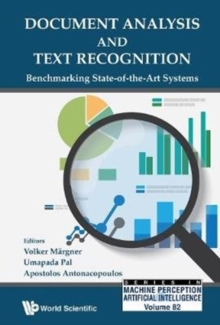 Document Analysis And Text Recognition: Benchmarking State-of-the-art Systems, Hardback Book