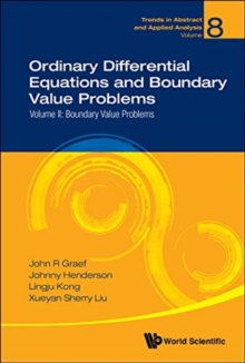 Ordinary Differential Equations And Boundary Value Problems - Volume Ii: Boundary Value Problems, Hardback Book