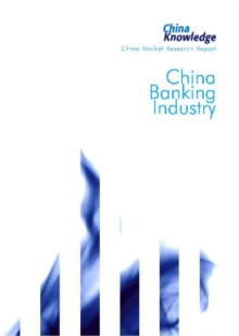 China Banking Industry, Paperback Book