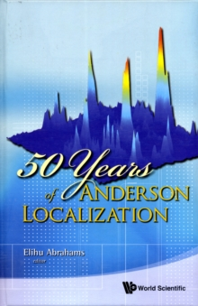50 Years Of Anderson Localization, Hardback Book