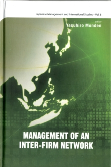 Management Of An Inter-firm Network, Hardback Book