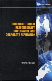 Corporate Social Responsibility, Governance And Corporate Reputation, Hardback Book