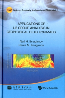 Applications of Lie Group Analysis in Geophysical Fluid Dynamics, Hardback Book