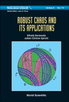 Robust Chaos And Its Applications, Hardback Book