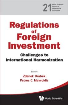Regulation Of Foreign Investment: Challenges To International Harmonization, Hardback Book