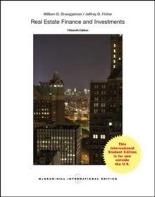 REAL ESTATE FINANCE AND INVESTMENTS, Paperback / softback Book