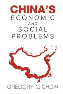 China's Economic And Social Problems, Paperback / softback Book