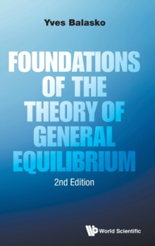 Foundations Of The Theory Of General Equilibrium, Hardback Book