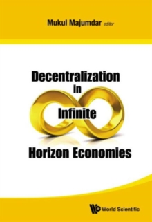 Decentralization In Infinite Horizon Economies, Hardback Book