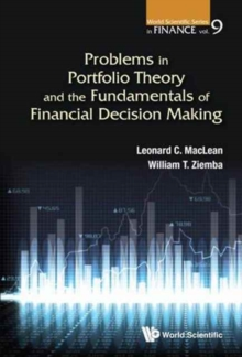 Problems In Portfolio Theory And The Fundamentals Of Financial Decision Making, Paperback / softback Book