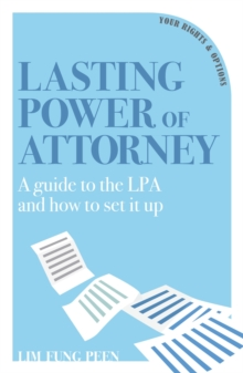 Lasting Power of Attorney, Paperback / softback Book