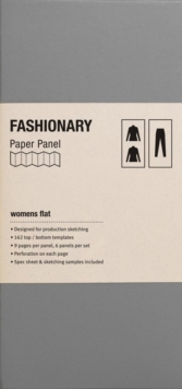 Fashionary Womens Flat Panel, Other printed item Book