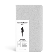 Fashionary Mini Felt Grey Mens Sketchbook A6 (Set of 3), Other printed item Book