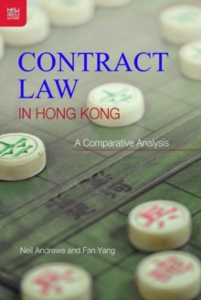 Contract Law in Hong Kong - An Introductory Guide, Hardback Book