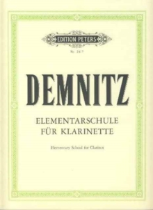ELEMENTARY SCHOOL FOR CLARINET,  Book