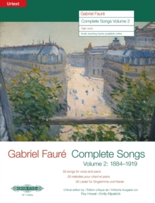 COMPLETE SONGS VOLUME 2 1884 TO 1919 HIG, Paperback Book