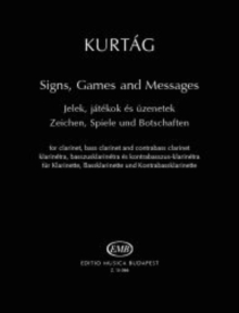SIGNS GAMES & MESSAGES CLARINET, Paperback Book