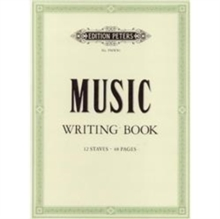 PETERS MUSIC WRITING BOOK PORTRAIT,  Book