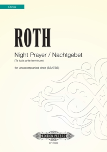 NIGHT PRAYERNACHTGEBET, Paperback Book