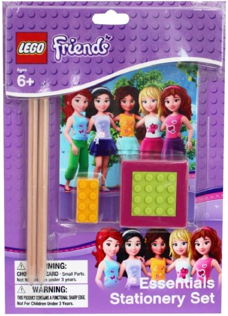LEGO FRIENDS ESSENTIAL STATIONERY SET: WEST DESIGNS ...